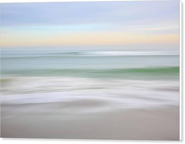 Egypt Beach Pastel Sunset  by Ann-Marie Rollo
