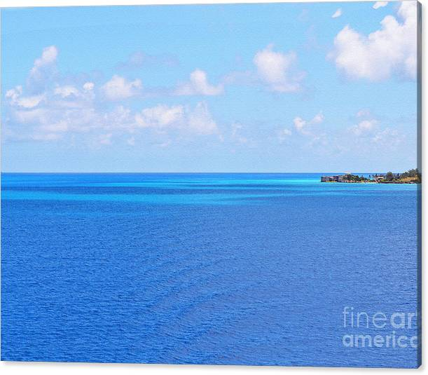 Limited Time Promotion: Bermuda Waters Stretched Canvas Print