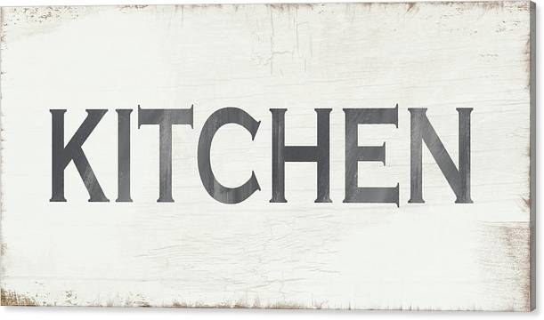 Rustic Kitchen Sign- Art by Linda Woods by Linda Woods