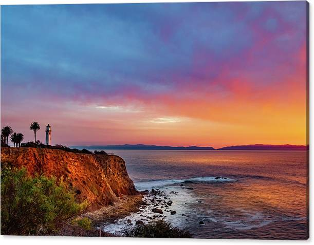 Point Vicente Lighthouse by April Reppucci