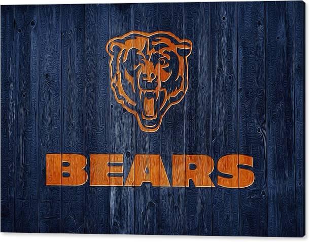 Chicago Bears Barn Door by Dan Sproul