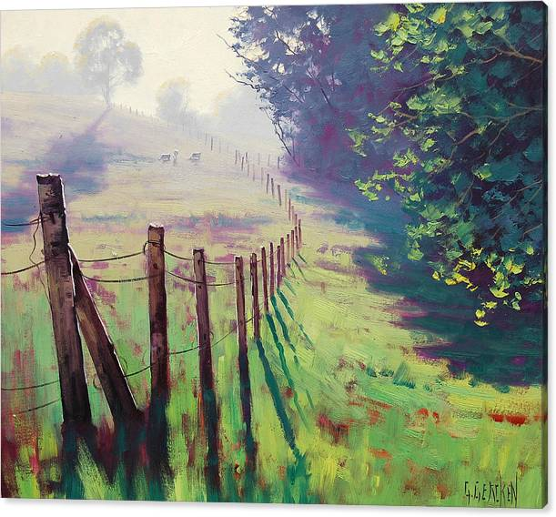 The Fence line by Graham Gercken