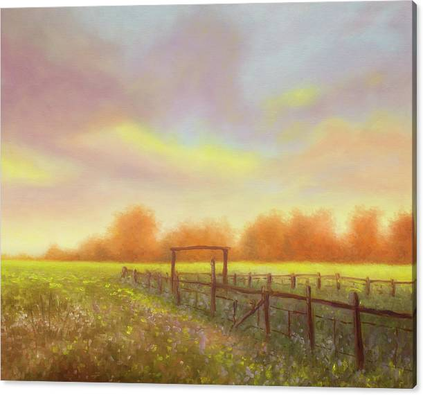 Morning in Texas - No 5 by Rob Blauser