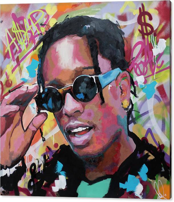 A$AP Rocky by Richard Day