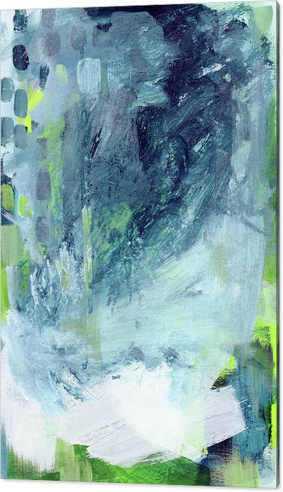 All Around You- Abstract Art by Linda Woods by Linda Woods