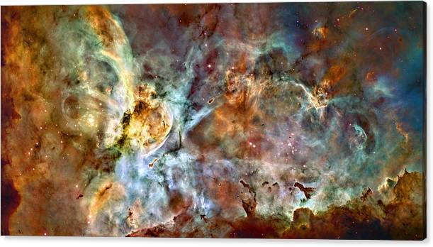 The Carina Nebula by Ricky Barnard