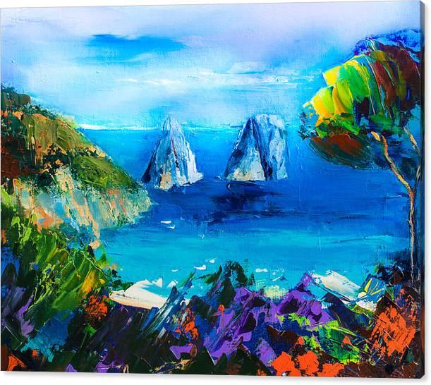 Capri Colors by Elise Palmigiani