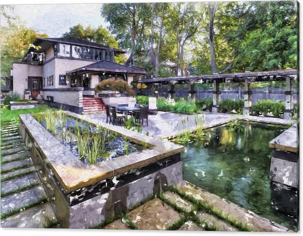 Boynton House Oil painting by Louis Ferreira