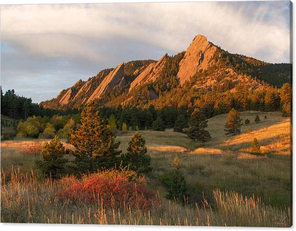 The Flatirons - Autumn by Aaron Spong