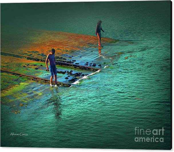 Decor Canvas Print featuring the photograph Verano by Alfonso Garcia