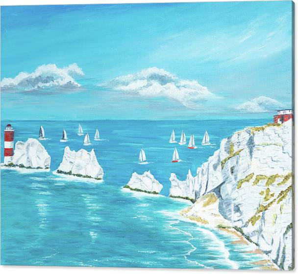 The Needles Isle of Wight by Laura Richards