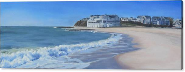 Falmouth Heights Beach Cape Cod by Sue Birkenshaw