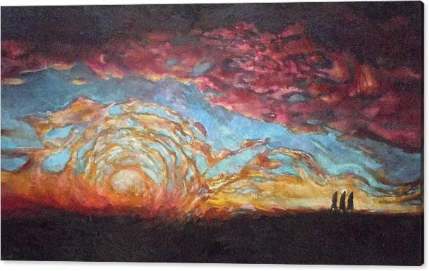 The Emmaus Road II by Daniel Bonnell