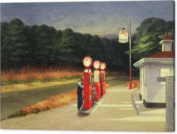 Gas by Edward Hopper