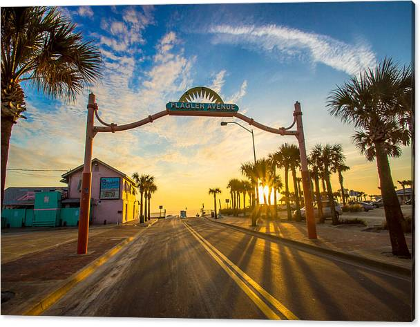 Flagler Avenue Beach Ramp at Sunrise by Danny Mongosa