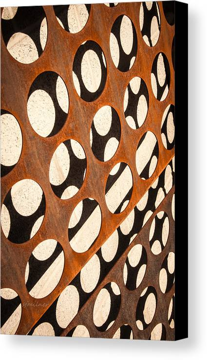Abstracts Canvas Print featuring the photograph Mind - Connections by Steven Milner