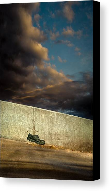 Shoe Canvas Print featuring the photograph Wingtips by Bob Orsillo