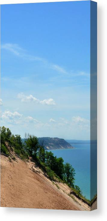 Iphone Case Canvas Print featuring the photograph Sleeping Bear Dunes Iphone Case by Diane Lent