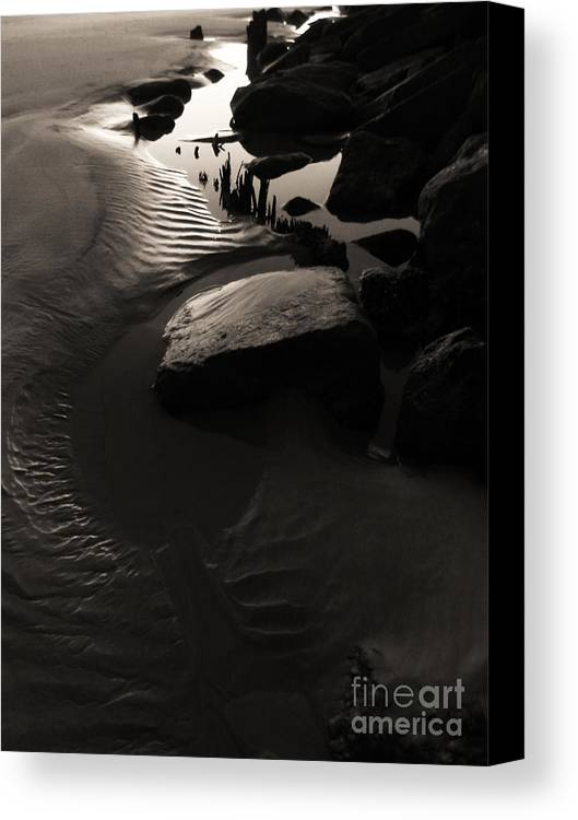 Beach Canvas Print featuring the photograph Alien Earth - Re-visit by Jesse Hanson