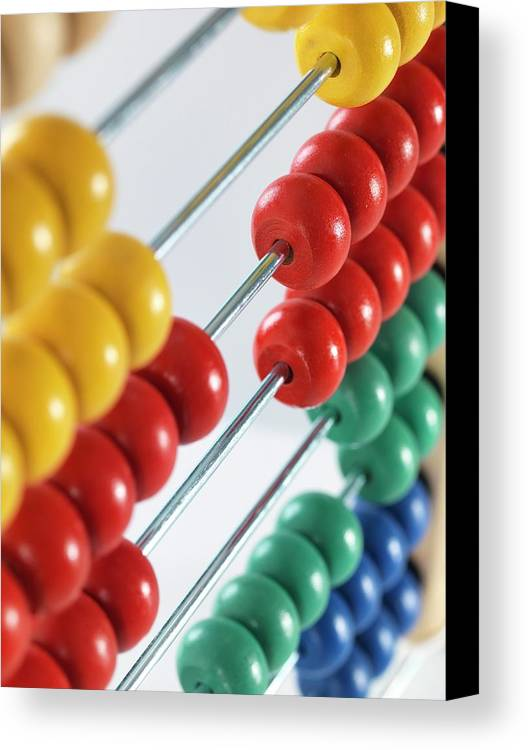 Abacus Canvas Print featuring the photograph Abacus by Tek Image