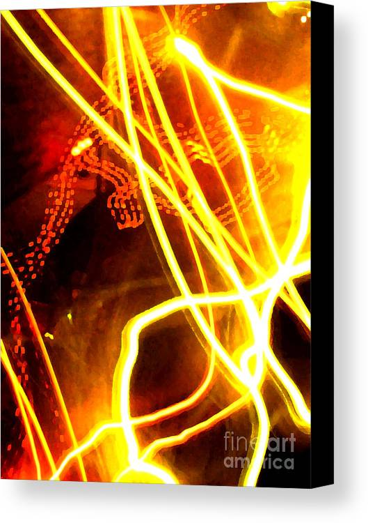 Abstract Canvas Print featuring the photograph Abstract by Amanda Barcon