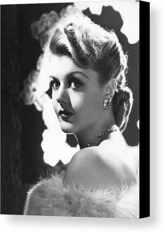 1940s Portrait Canvas Print featuring the photograph Angela Lansbury, Mid 1940s by Everett