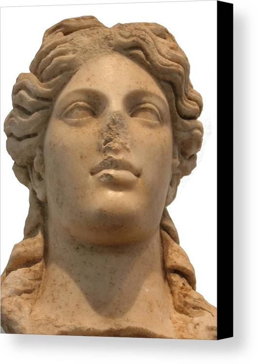 Aphrodisias Canvas Print featuring the photograph Aphrodite The Goddess Of Love And Beauty by Tracey Harrington-Simpson