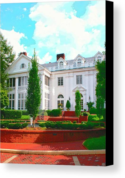 Charlotte Canvas Print featuring the photograph Charlotte Estate Charlotte Nc by William Dey