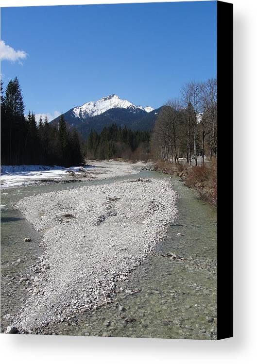 Water Canvas Print featuring the photograph Clear Waters by Tiffany Erdman