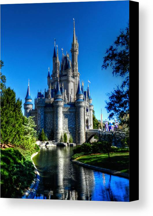 Disney Canvas Print featuring the photograph Disney Hdr 002 by Lance Vaughn