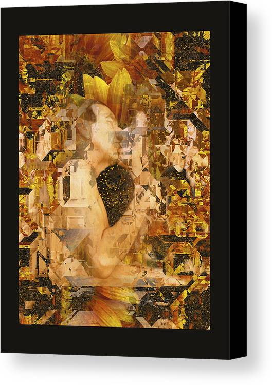 Nude Canvas Print featuring the photograph Eternally Yours by Kurt Van Wagner
