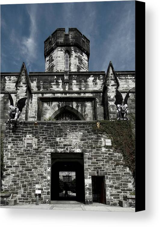 Gothic Canvas Print featuring the photograph Gothic by Brenda Conrad
