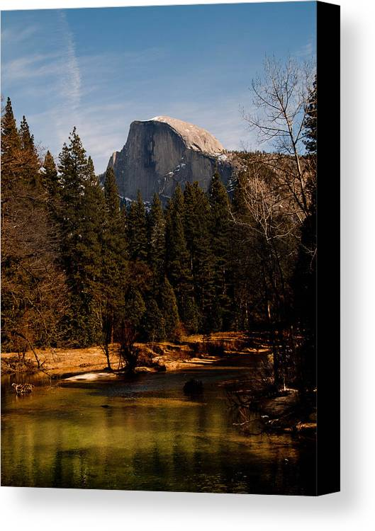 Yosemite Canvas Print featuring the photograph Half Dome Spring by Bill Gallagher