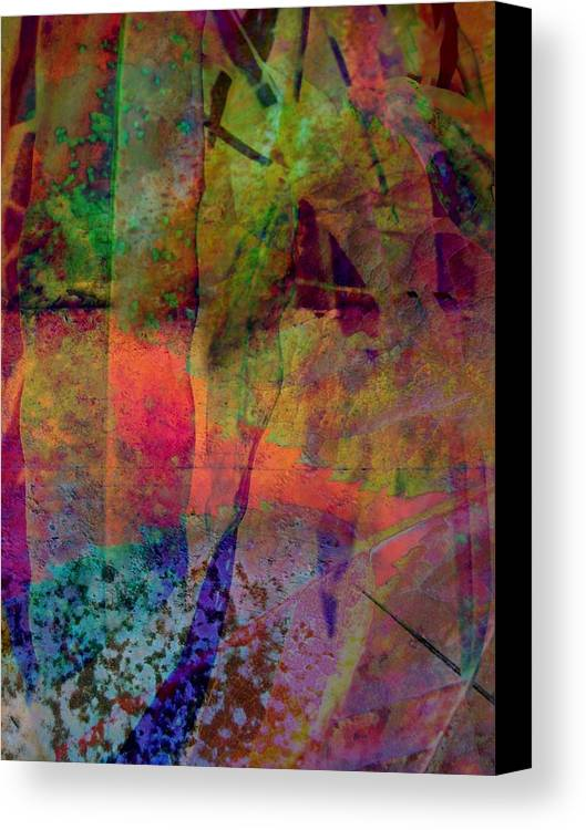 Abstract Canvas Print featuring the photograph Inside Autumn by Shirley Sirois