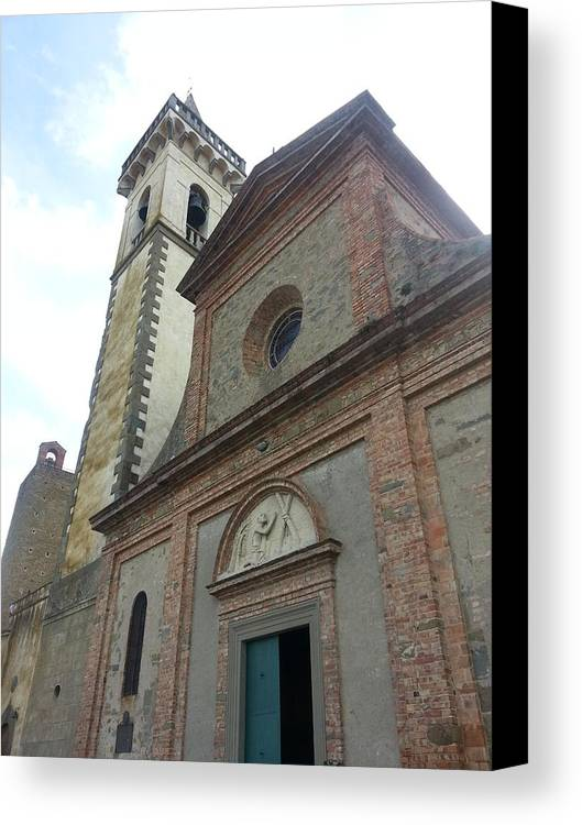 Church Canvas Print featuring the photograph Italy 1 by Brian McCullough