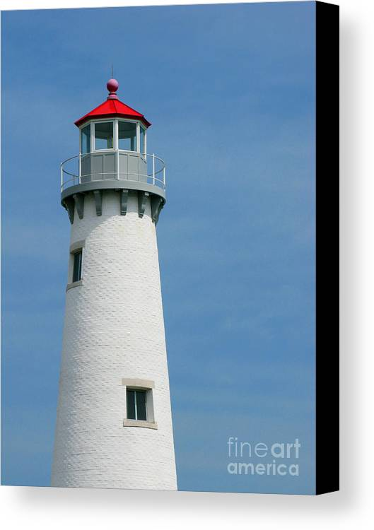 Lighthouse Canvas Print featuring the photograph Lighthouse by Ann Horn
