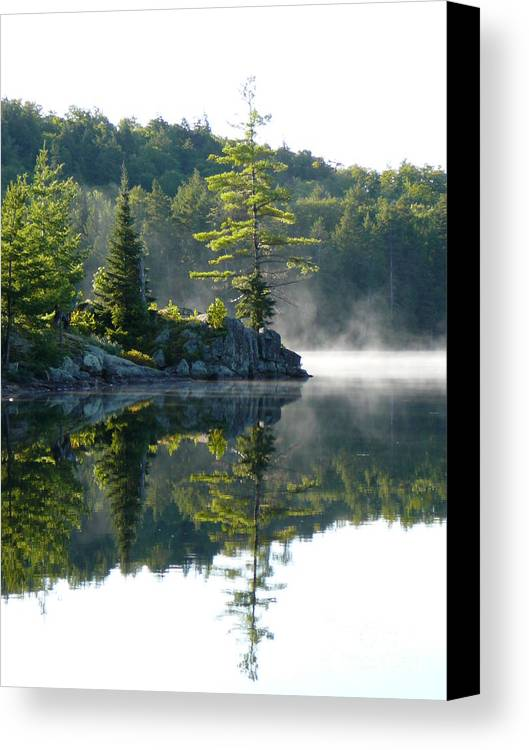 Maggie Lake Canvas Print featuring the photograph Maggie Lake 1 by Chris Sotiriadis
