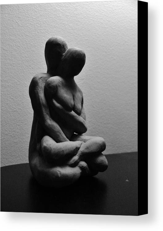 Meditation Canvas Print featuring the sculpture Meditations by Barbara St Jean