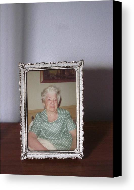 Guy Ricketts Photography Canvas Print featuring the photograph Remembering Grandma by Guy Ricketts
