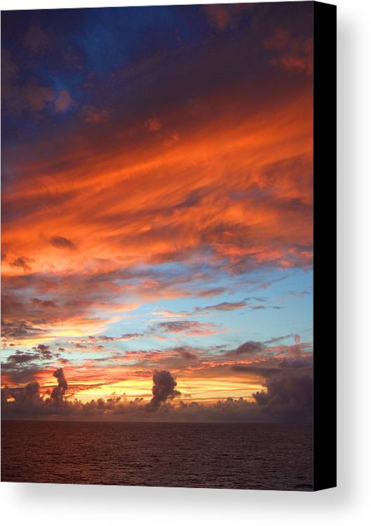 Sky Canvas Print featuring the photograph Sky by Keith Eisenstadt