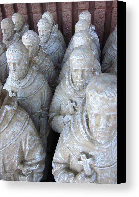 Guy Ricketts Photography Canvas Print featuring the photograph St. Francis In Abundance by Guy Ricketts
