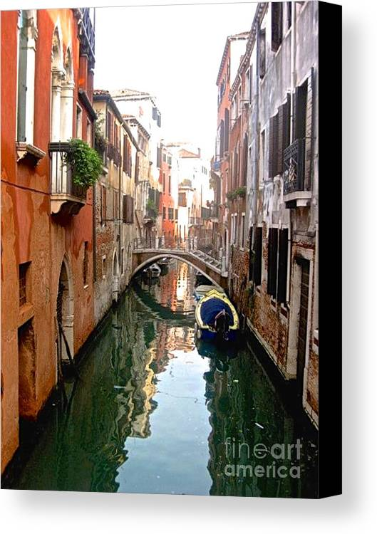 Venice Canvas Print featuring the photograph The Beauty Of Venice by Christy Gendalia