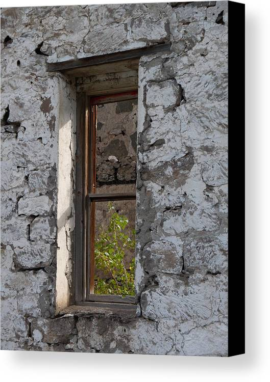 Windows Canvas Print featuring the photograph The Window by Rod Giffels
