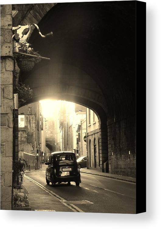 Scotland Canvas Print featuring the photograph What Year Is This? by Jennifer Irwin