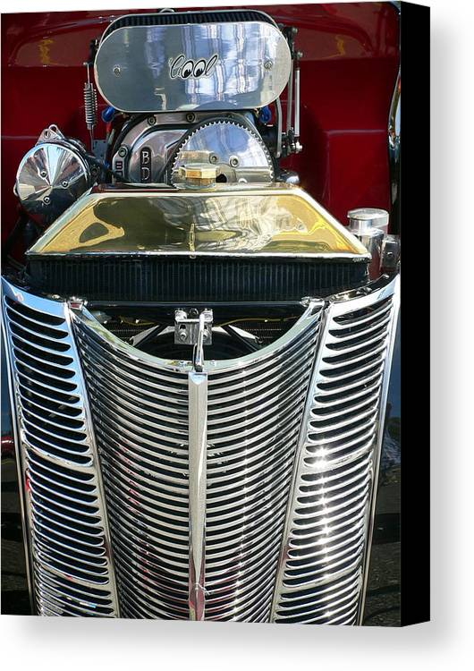 Classic Car Canvas Print featuring the photograph Cool by Jeff Lowe