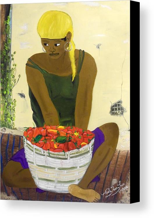 Le Piment Rouge D\' Haiti Canvas Print / Canvas Art by Nicole Jean-Louis