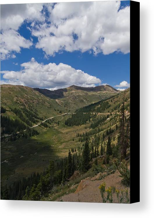 Valley Canvas Print featuring the photograph Rocky Mountain High by Andreas Hohl