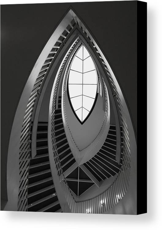 Stairs Canvas Print featuring the photograph Stairs by Anna Villarreal Garbis