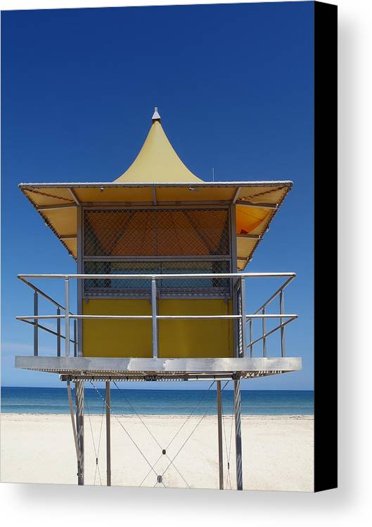 Decorative Canvas Print featuring the photograph Watchtower by Melanie Viola
