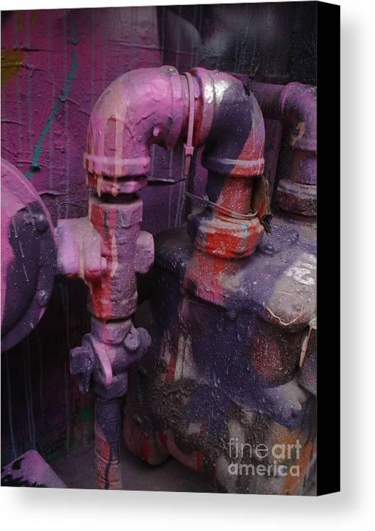 Urban Art Canvas Print featuring the photograph Urban Art by Chandelle Hazen